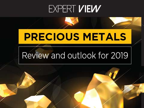 Precious metals: review and outlook for 2019