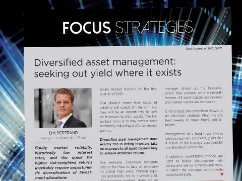 Diversified asset management: seeking out yield where it exists