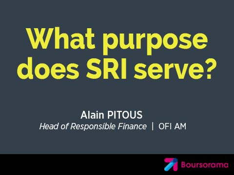 What purpose does SRI serve?
