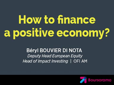 How to finance a positive economy?