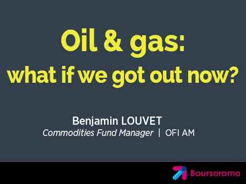 Oil & gas: what if we got out now?