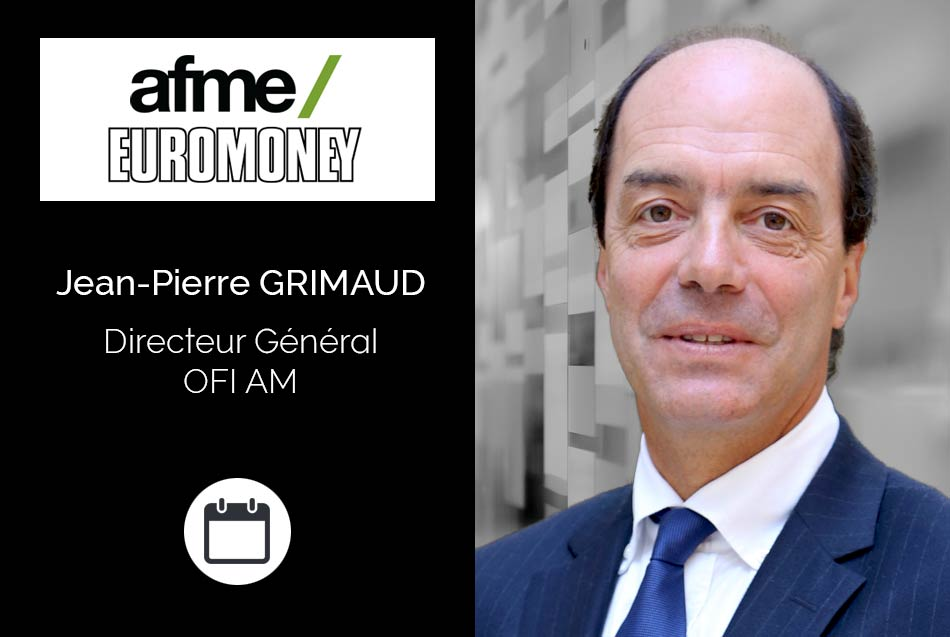 <strong>Jean-Pierre Grimaud, Directeur Général d'OFI AM,</strong> interviendra à 13h30 lors de l'« Interactive Workshop: Asset Manager Case Study » :