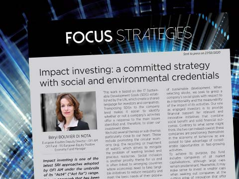 Impact investing: a committed strategy with social and environmental credentials