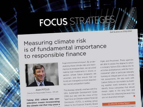 Measuring climate risk is of fundamental importance to responsible finance