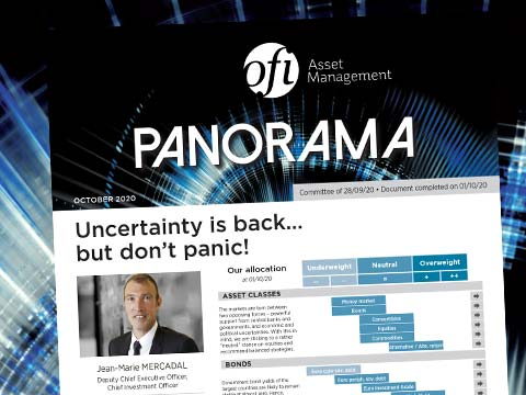 Uncertainty is back… but don't panic!