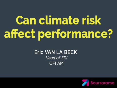 Can climate risk affect performance?